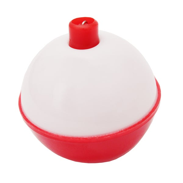Eagle Claw Snap-On Round Floats Red/White Size 1.5 inch Bulk