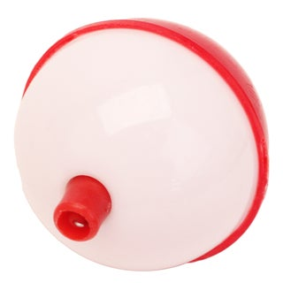 Eagle Claw Snap-On Round Floats Red/White Bulk 2