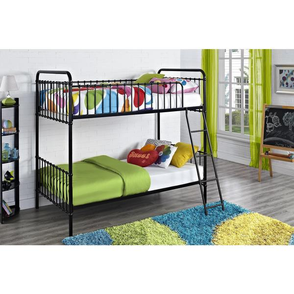 Image Result For Metal Twin Over Twin Bunk Bed With Trundle