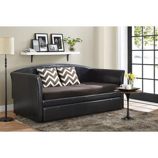 Avenue Greene Meghan Upholstered Daybed and Trundle
