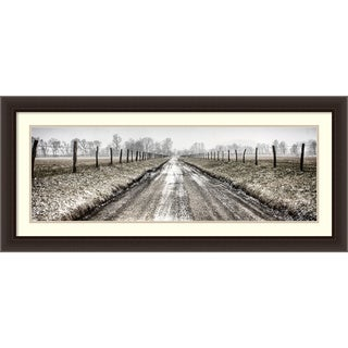 Todd Ridge 'Picket Path' Framed Art Print 44 x 20-inch