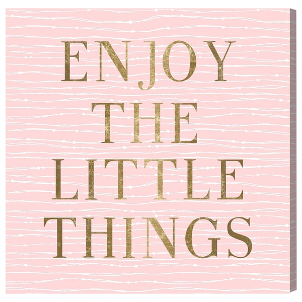 Blakely Home 'Enjoy Everything' Canvas Art