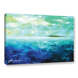 ArtWall Milen Tod 'Isle' Gallery-wrapped Canvas