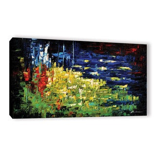 ArtWall Milen Tod 'Life' Gallery-wrapped Canvas