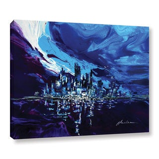 ArtWall Milen Tod 'Distorted Reflection' Gallery-wrapped Canvas