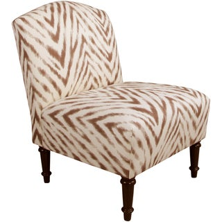 Skyline Furniture Camel Back Chair in Amir Harissa