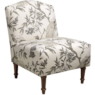 Skyline Furniture Camel Back Chair in Roberta Winter