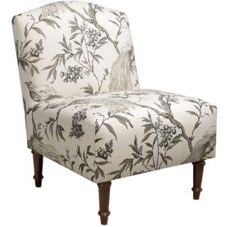 Skyline Furniture Camel Back Chair in Roberta Winter