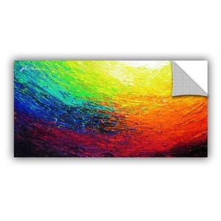 ArtAppealz Milen Tod 'Rainbow' Removable Wall Art