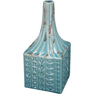 kathy ireland Textural Ceramic Vase (Set of 2)