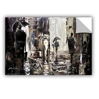 ArtAppealz Milen Tod 'Rain' Removable Wall Art