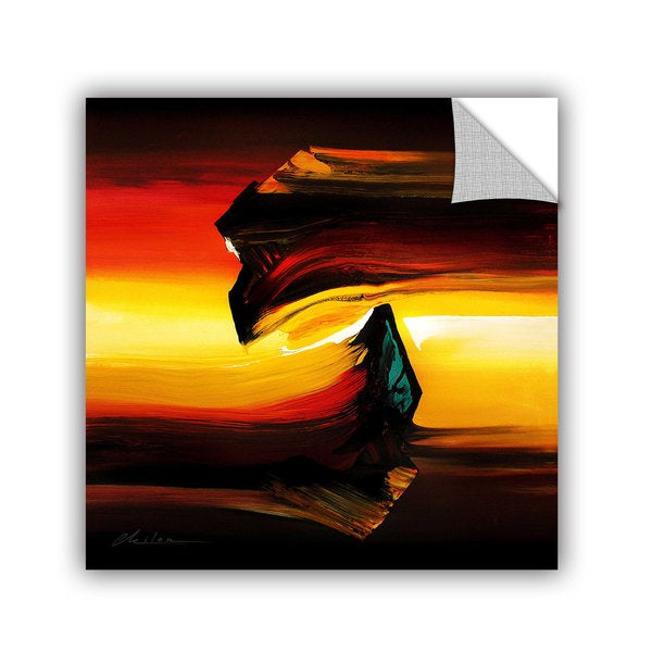 ArtAppealz Milen Tod 'Passing By' Removable Wall Art