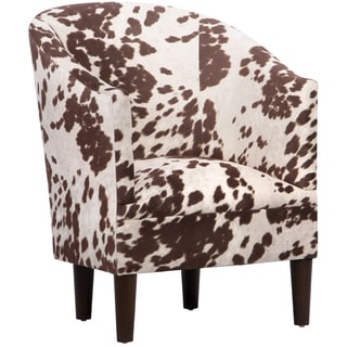 Skyline Furniture Tub Chair in Udder Madness Milk