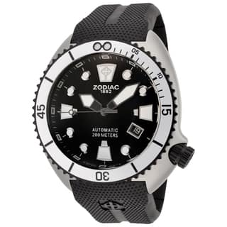 Zodiac Oceanaire Men's Black Automatic Watch|https://ak1.ostkcdn.com/images/products/10520154/P17603668.jpg?impolicy=medium