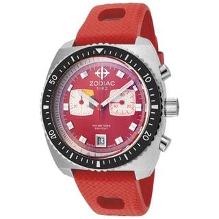 Zodiac Men's Limited Edition Sea Dragon Reissue Red Watch