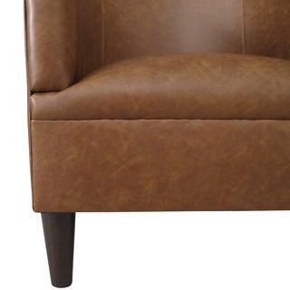 Skyline Furniture Tub Chair in Sonoran Saddle Brown