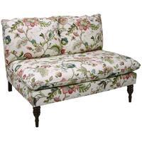 Skyline Furniture Armless Love Seat in Brissac Jewel