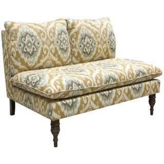 Skyline Furniture Armless Love Seat in Ubud Opal