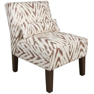 Skyline Furniture Armless Chair in Amir Harissa