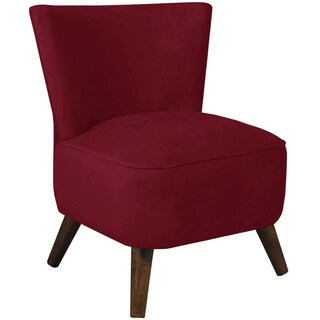 Made to Order Skyline Furniture Upholstered Chair in Velvet Berry