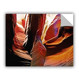 ArtAppealz Linda Parker 'Slot Canyon Light From Above 4' Removable Wall Art