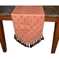 Emani Suede Decorative Table Runner