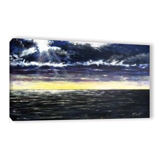 ArtWall Gene Foust 'Ravage Sea' Gallery-wrapped Canvas