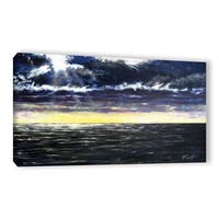 ArtWall Gene Foust 'Ravage Sea' Gallery-wrapped Canvas