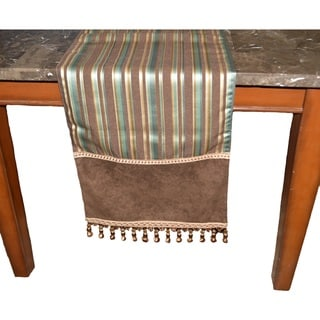 Mulholland Decorative Table Runner (72, Chocolate)