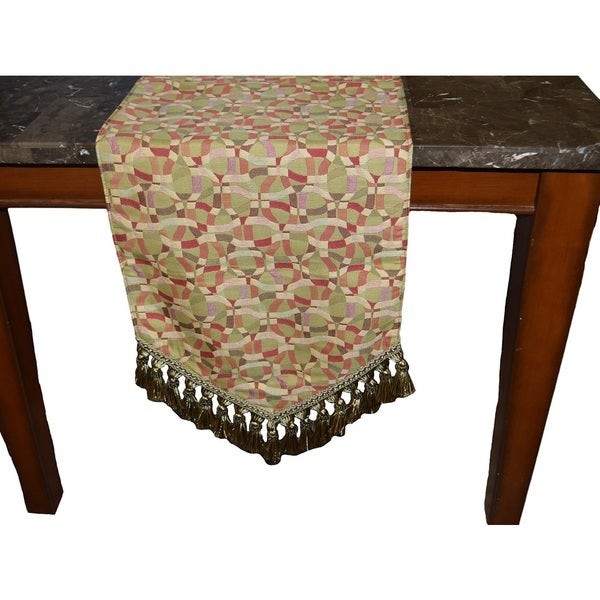 Shop Calypso Decorative Table Runner   On Sale   Free Shipping Today    Overstock   10520497