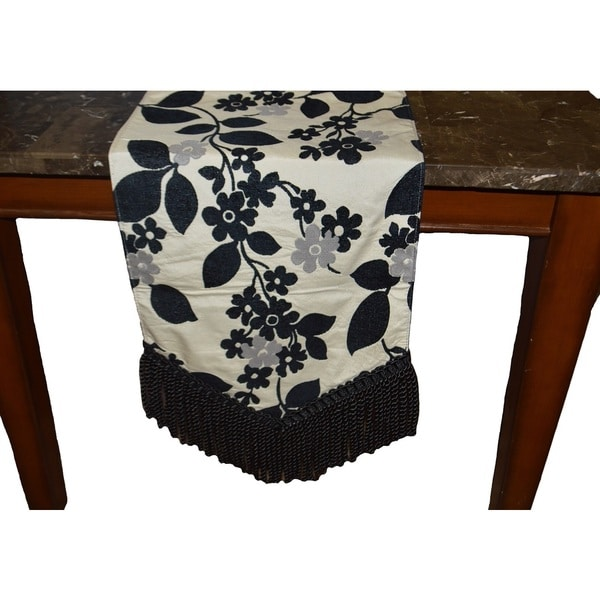 Merveilleux Shop Tabatha Decorative Table Runner   On Sale   Free Shipping Today    Overstock   10520501