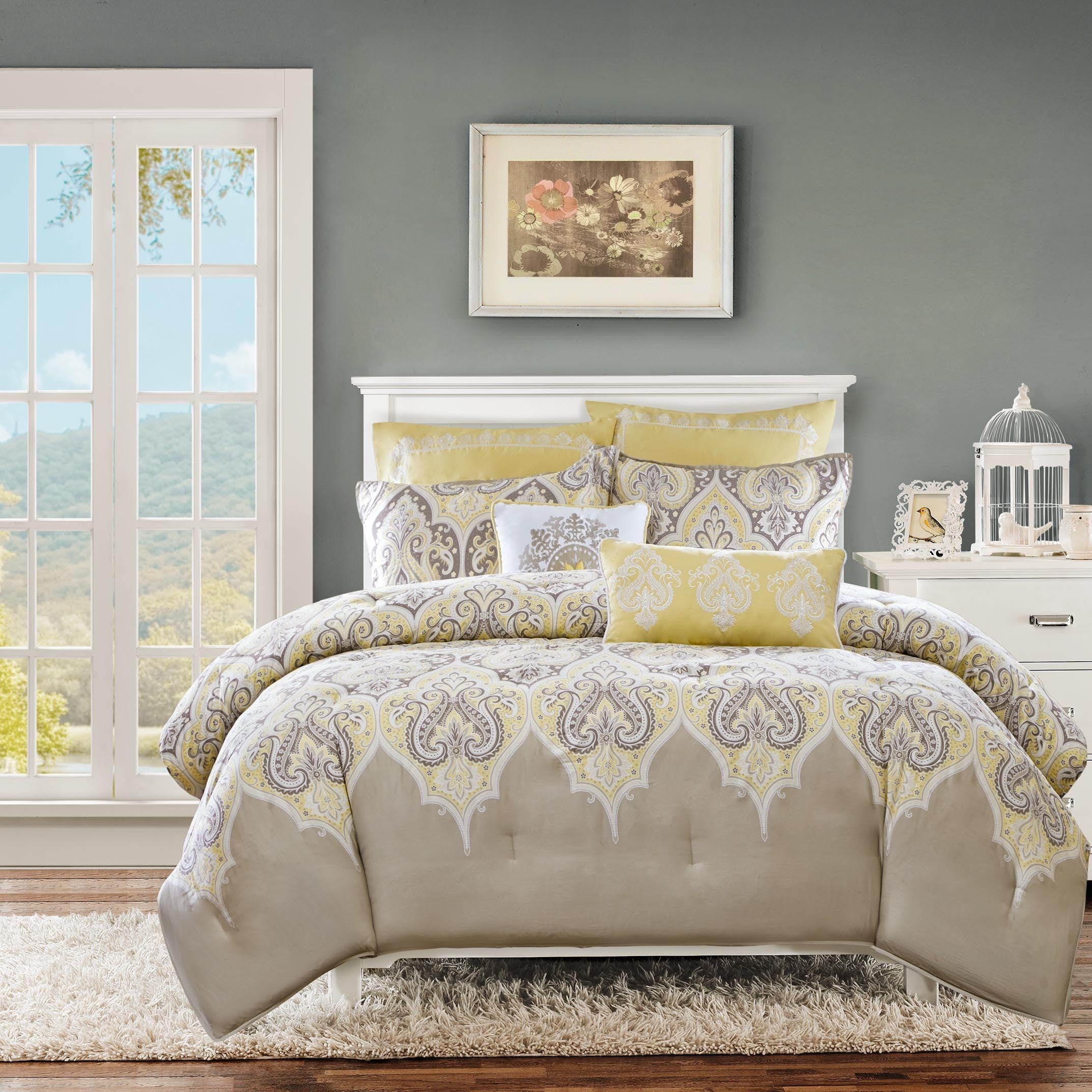 overstock comforter on product park madison bedding set cotton piece noelle shipping bed free bath com