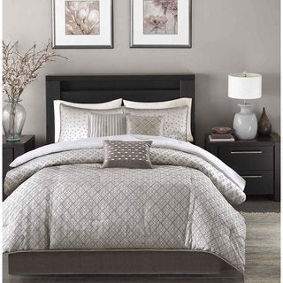 Link to Madison Park Pensacola 7-piece Comforter Set Similar Items in Comforter Sets