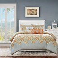 Madison Park Leah 5-Piece Cotton Duvet Cover Set