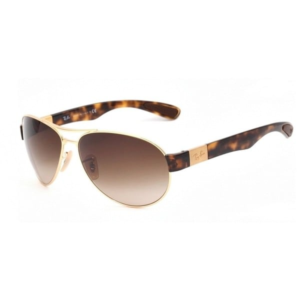 0c6ff5f49b Ray-Ban RB3509 Unisex Gold Tortoise Frame Brown Gradient Lens Sunglasses
