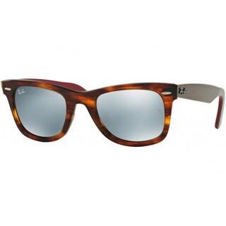 Ray-Ban RB2140 50mm Silver Flash Mirror Lenses Tortoise/Grey/Wine Frame Sunglasses