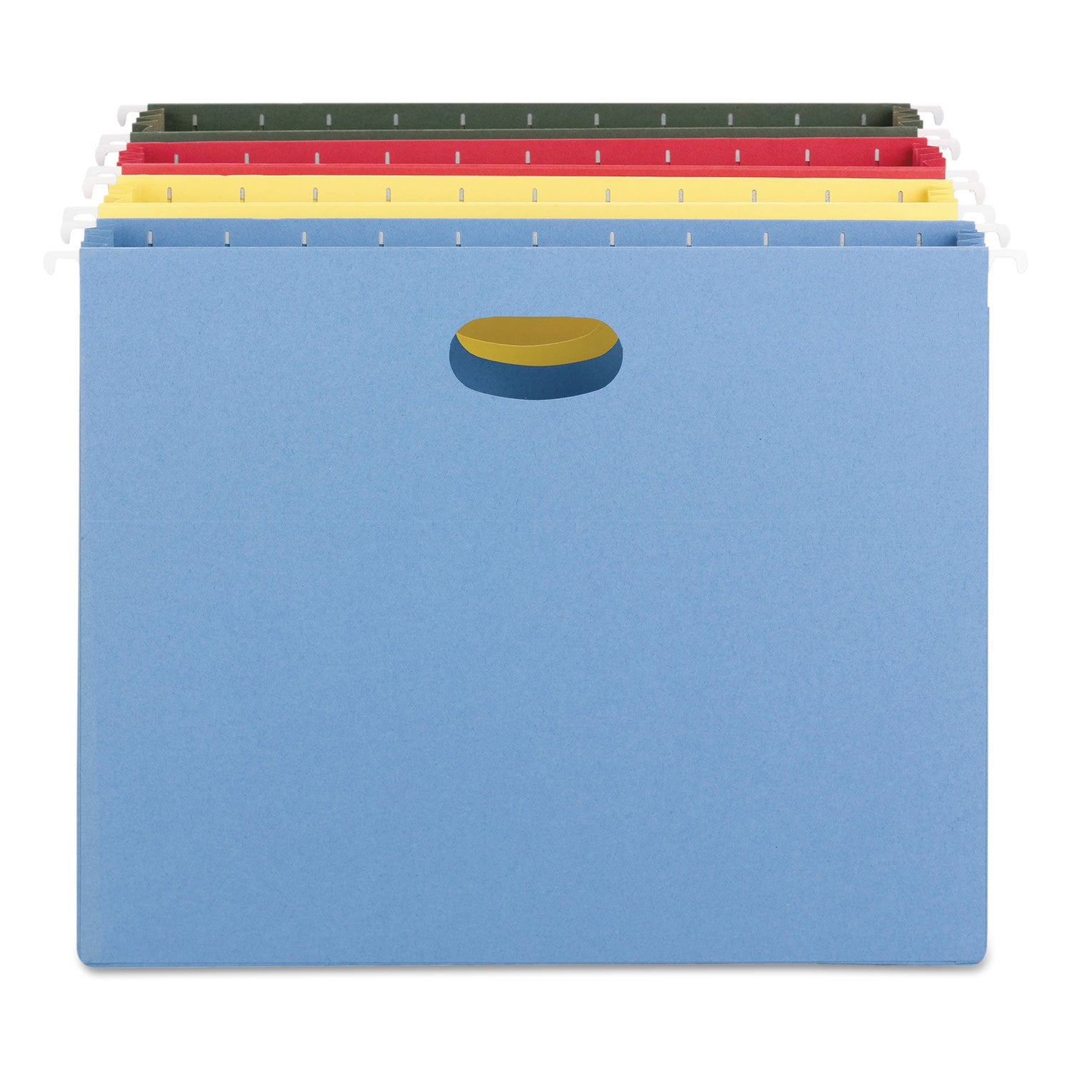 Smead 3 inch Capacity Assorted Hanging File Pockets (Pack...