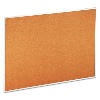 Universal 48 x 36 Natural Cork Bulletin Board
