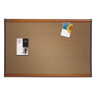 Quartet Prestige Graphite-Blend Cork Bulletin Board