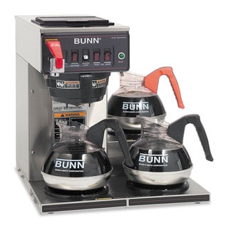 BUNN Commercially Rated Stainless Steel Automatic Brewer