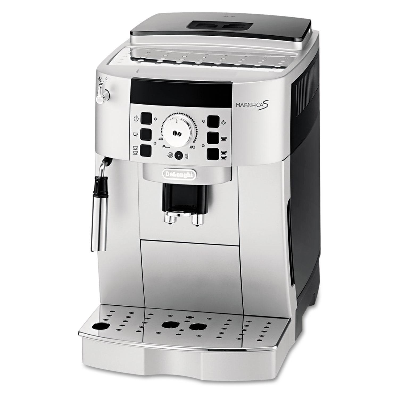 DeLonghi ECAM22110SB Magnifica XS Compact Automatic Cappuccino, Latte, and Espresso Machine Silver