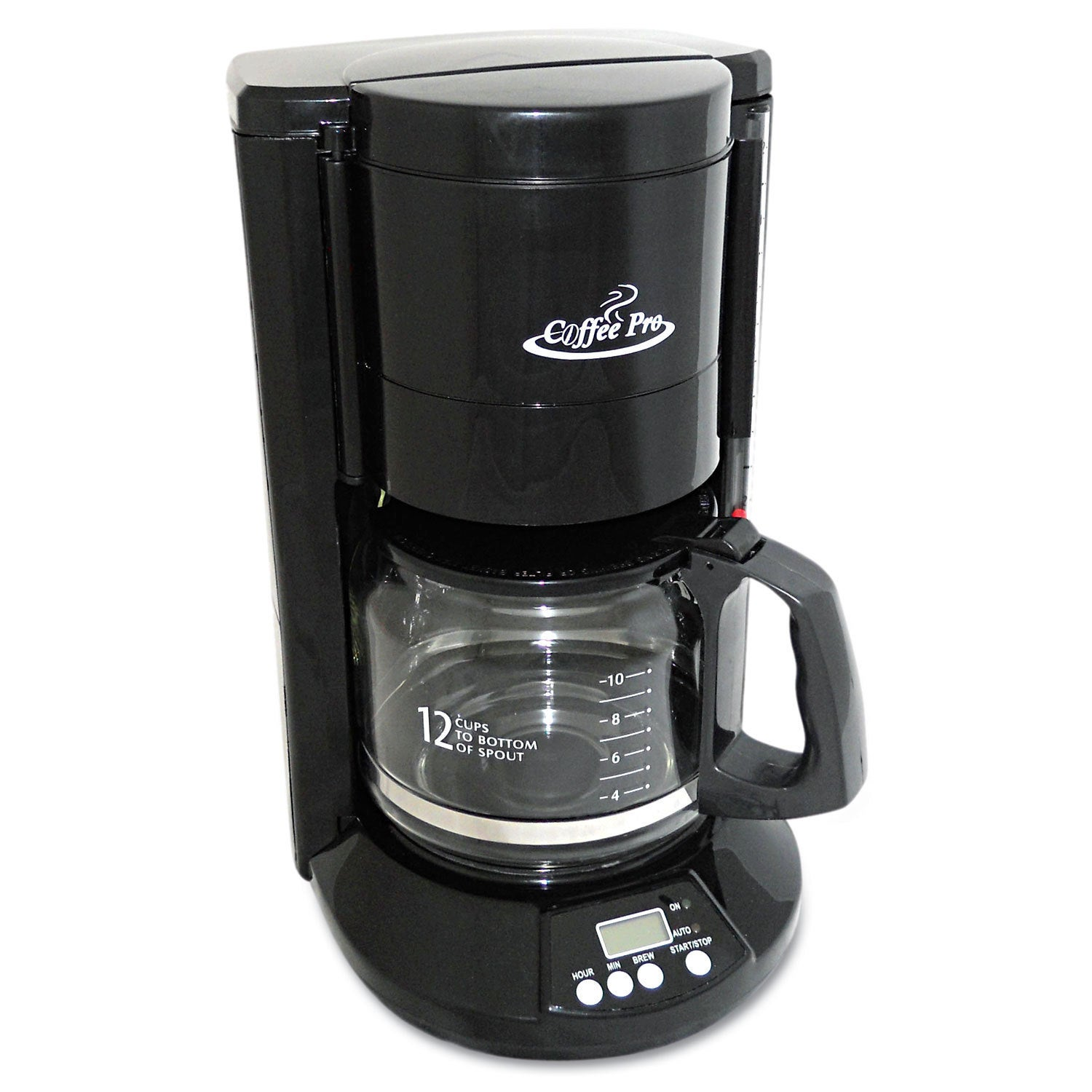 CoffeePro Coffee Pro Home/Office 12-Cup Black Coffee Make...