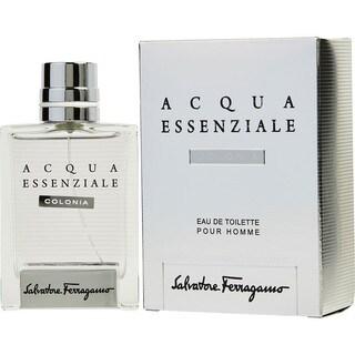 Salvatore Ferragamo Acqua Essenziale Colonia Men's 3.4-ounce Eau de Toilette Spray