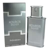 Yves Saint Laurent Kouros Silver Men's 3.4-ounce Eau de Toilette Spray