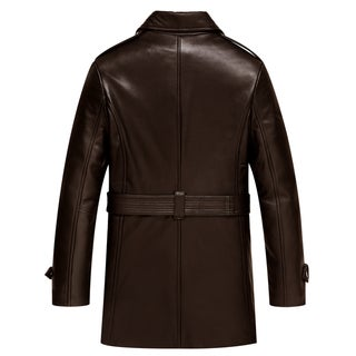 Mason & Cooper Women's Casey Leather Trench