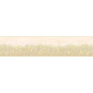 Pink Spring Meadow Wallpaper Border