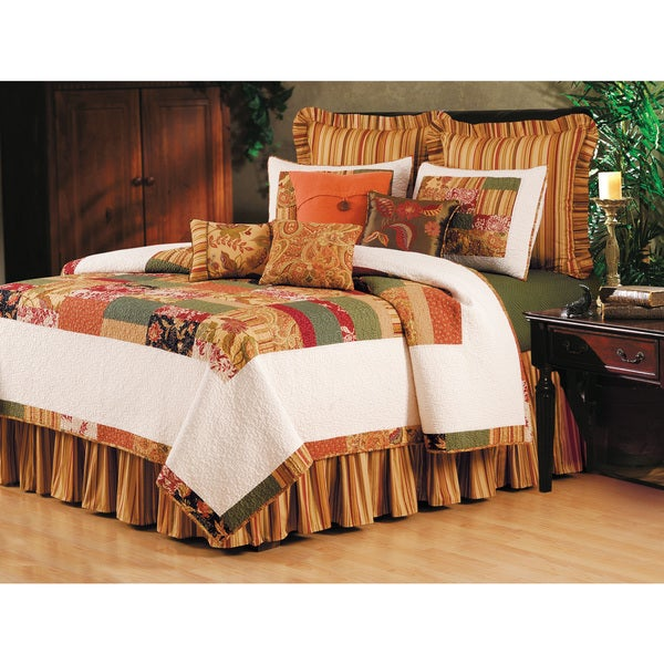 Woodbury Cotton Country Patchwork Quilt (Shams Not Included)