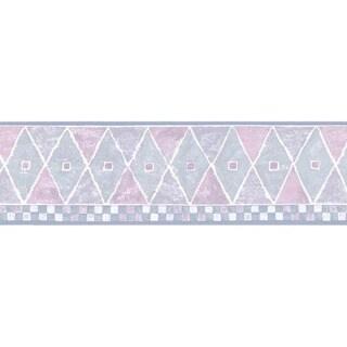 Pink Diamond Wallpaper Border