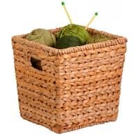 Honey-Can-Do Natural Basket - Med Square