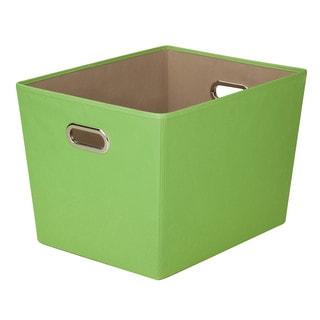 Lg Storage Bin w/ handle - Grn